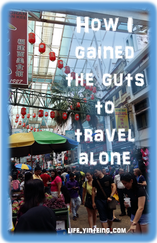 How I gained the guts to travel alone. Actually I was quite a timid person but due to being forced into sleeping in a supposedly haunted hotel room, I find travelling alone enjoyable!