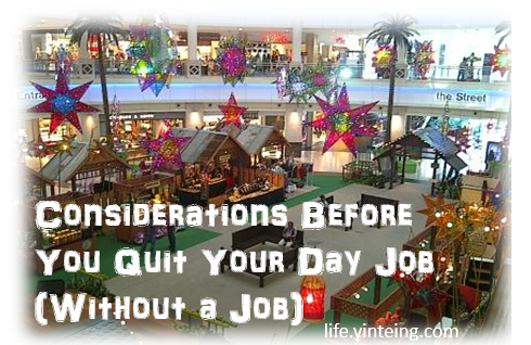 Before you decide to resign or quit your job, there are some careful considerations to think about