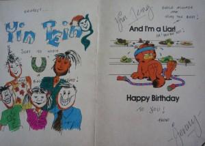 Beautiful birthday card by Jenny