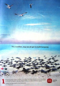 Sime Darby advert- This Aidilfithri, may we all get to balik kampung
