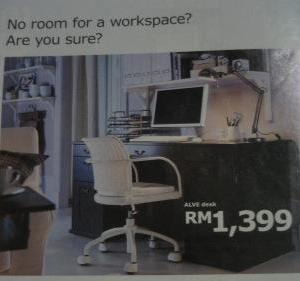 Picture taken from an Ikea Catalogue