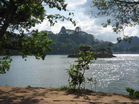 Lake in Sri Lanka
