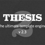 Thesis wordpress theme 2.3 and 2.4
